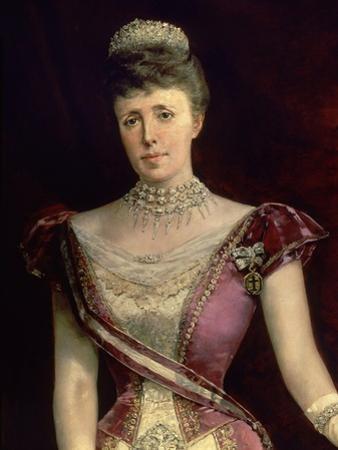 Maria Christina of Austria by Luis Alvarez catala