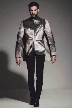 Male Model Posing by Luis Beltran