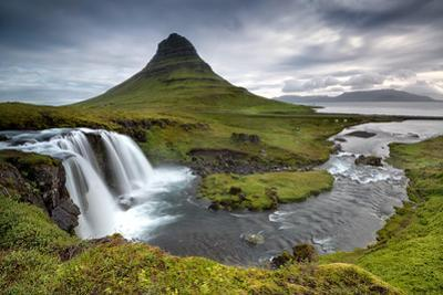 Kirkjufell Waterfalls in Grundarfjordur, West of Iceland by Luis Louro