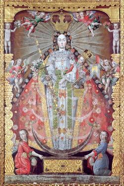 Virgen De La Candelaria by Luis Nino