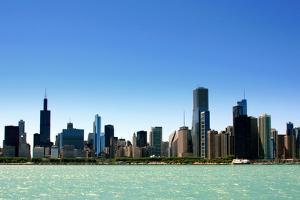 Chicago Skyline by Luiz Felipe Castro