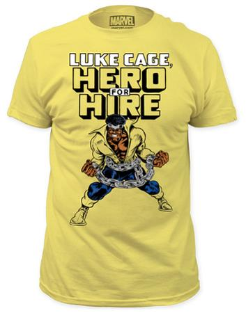 Luke Cage - Hero For Hire (yellow slim fit)