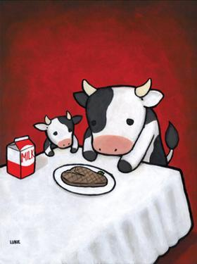 Revenge Is A Dish (Cow) by Luke Chueh