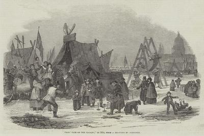 Frost Fair on the Thames, in 1814