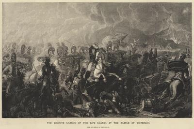 The Decisive Charge of the Life Guards at the Battle of Waterloo