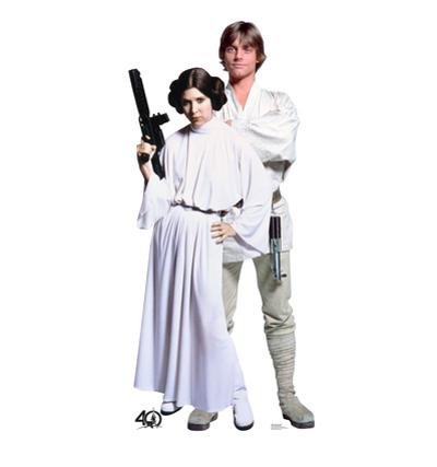 Luke & Leia - Star Wars 40th Anniversary