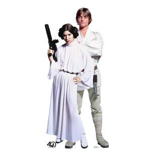 Luke & Leia - Star Wars 40th Anniversary
