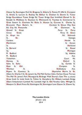 London Circle by Luke M Walker