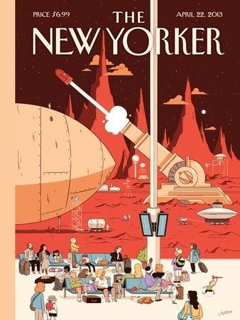 The New Yorker Cover - April 22, 2013
