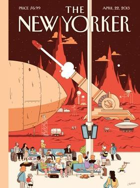The New Yorker Cover - April 22, 2013 by Luke Pearson
