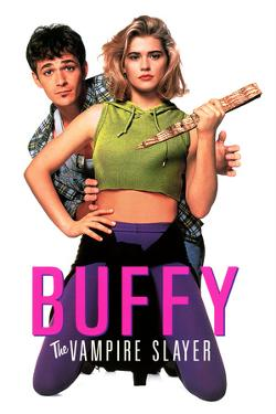 "LUKE PERRY; KRISTY SWANSON. ""BUFFY THE VAMPIRE SLAYER"" [1992], directed by FRAN RUBEL KUZUL."