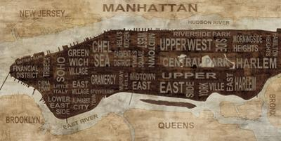 Manhattan Neighborhoods by Luke Wilson