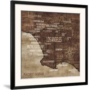 Map of Los Angeles by Luke Wilson