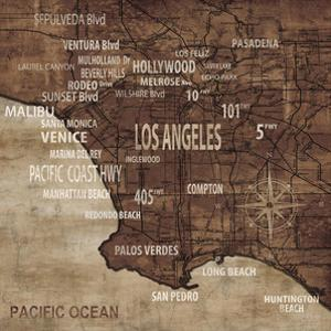 Map of Los Angeles by Luke Wilson