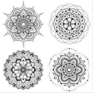 Mandala Set by Lullis