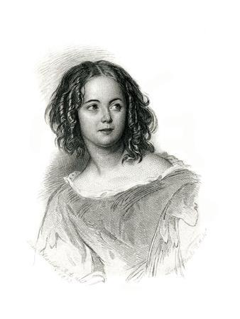 Anna Maria Hall, Maclise