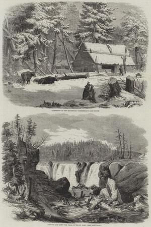 Lumbering in New Brunswick