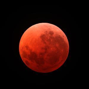 Lunar Eclipse Taken on April 15, 2014