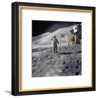 Lunar Salute--Framed Giclee Print