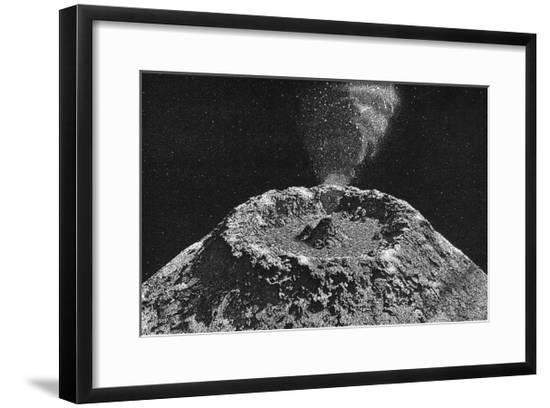 Lunar Volcano--Framed Giclee Print