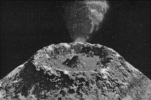 Lunar Volcano