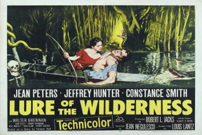 Lure of the Wilderness, UK Movie Poster, 1952
