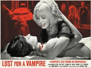 Lust for a Vampire 1971 (Red)