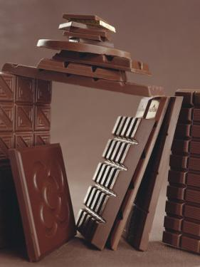 Assorted Chocolate Bars by Luzia Ellert