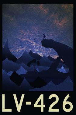 LV-426 Retro Travel Poster