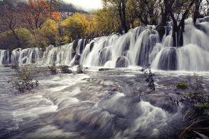 Jiuzhai Valley National Park by Lv Photography