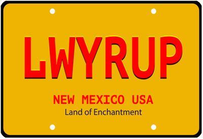 LWYRUP Plate