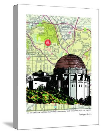 Griffith Observatory by Lyn Nance Sasser and Stephen Sasser