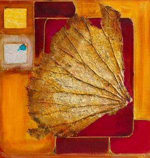 Le lotus d`or I by Lyne Perinciolo Duluc