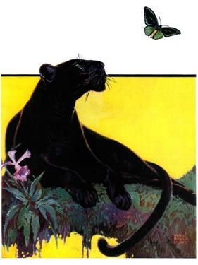 """""""Black Panther,""""August 13, 1932 by Lynn Bogue Hunt"""