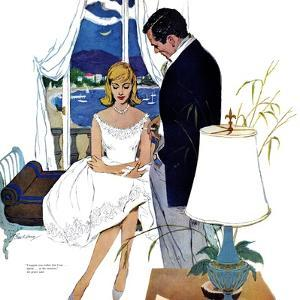 "Cinderella Dress  - Saturday Evening Post ""Leading Ladies"", September 17, 1960 pg.22 by Lynn Buckham"