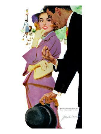 """Young and Pampered - Saturday Evening Post """"Leading Ladies"""", January 3, 1959 pg.31"""