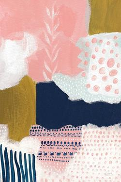 Tribal Study Coral by Lynn Mack