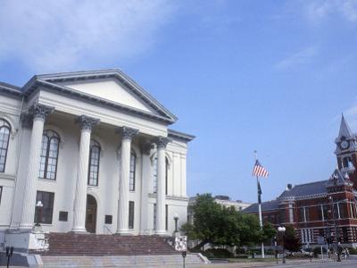 City Hall and Thalian Hall Performing Arts Center, Wilmington, North Carolina