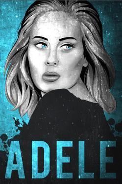 Adele Illustration by Lynx Art Collection
