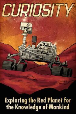 Mars Curiosity Rover by Lynx Art Collection