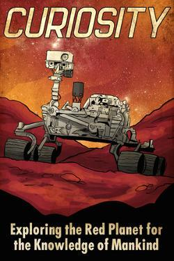 Mars Curiosity Rover by Lynx Art Collection