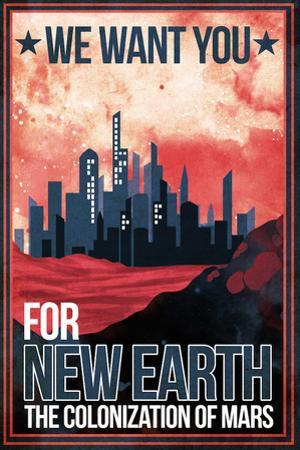 Mars Retro Space Travel - Colonize Mars