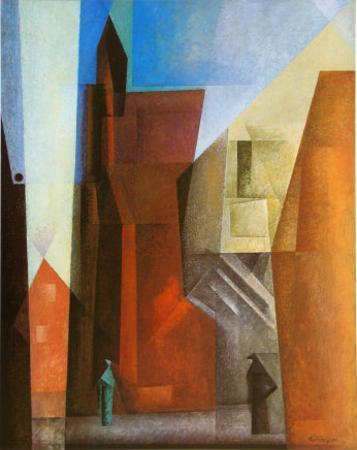 Arch Tower I by Lyonel Feininger