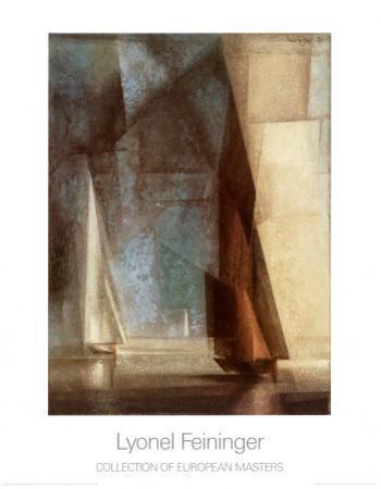 Spiller Tag am Meer Ill, 1929 by Lyonel Feininger