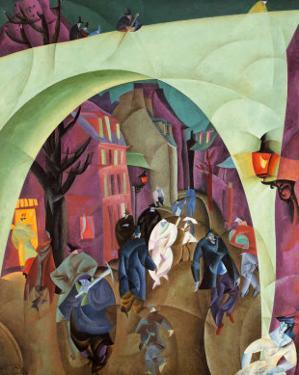 The Green Bridge II by Lyonel Feininger