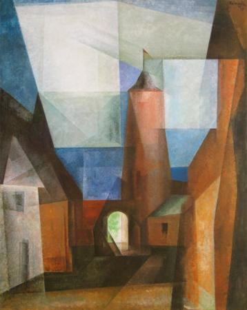 The Gruetz-Tower in Treptow at the Rega, 1928
