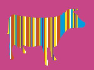 Striped Cow by Lyonel Maillot
