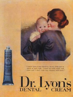 Lyons Toothpaste, Baby, UK, 1900