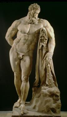 The Farnese Hercules, Roman Copy of Greek Original by Lysippos