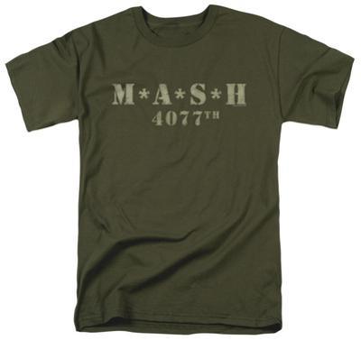 M.A.S.H - Distressed Logo